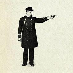 All sizes | Gunman | Flickr - Photo Sharing! #graphic #vintage