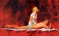Illustrations by Robert McGinnis #inspiration #illustration #art