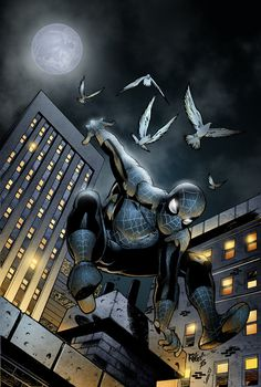Dark Spiderman by SeanE on deviantART