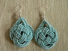 Korálky, návody, inspirace #earrings #jewelry