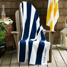 Cabana-Striped Beach Towel by Ralph Lauren #tech #flow #gadget #gift #ideas #cool