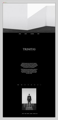 Websites We Love — Showcasing The Best in Web Design #agency #white #portfolio #design #geometric #best #website #ui #shirt #black #minimal #webdesign #fashion #web #typography
