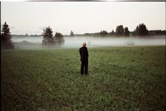 All sizes | Untitled | Flickr - Photo Sharing! #field #fog #grass #mist #lonely #photography #film