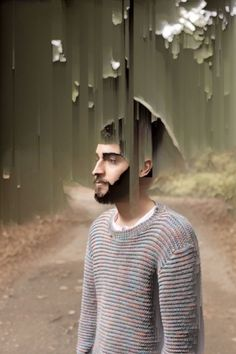 Ian Walsh Design #portrait #glitch