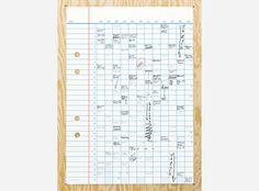 Year calendar by Studio E.O #design #graphic