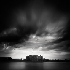 Castles made of sand... on Behance #white #black #photography #sand #and #castle