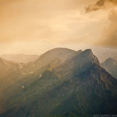 The Fabric of Fairy Tales | Flickr - Photo Sharing! #haze #color #photography #mountains #light