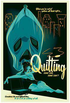 Quitting.jpg (JPEG Imagen, 394x576 pixels) #illustration
