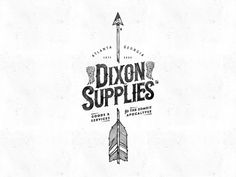 'Dixon Supplies' illustration for F&L Co. One for fans of The Walking Dead #walkingdead #zombie #arrow #supplies #illustration #handdrawn