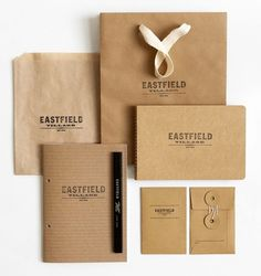 Eastfield on the Behance Network #identidade