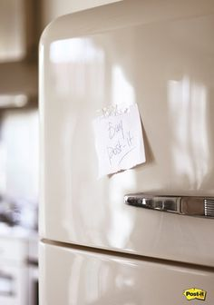 Post-it: Fridge | Ads of the World™ #post #it #refrigerator