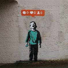 CJWHO ™ (not banksy by banksy noone likes me CJWHO: ...) #instagram #streetart #design #banksy #illustration #art