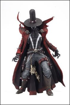 Spawn (Super Sized) Deluxe Box Figures Gunslinger Spawn by McFarlane Toys #gunslinger #spawn