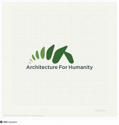 Architecture For Humanity logo submission. #resinism #fi #npo #architecture #for #humanity #logo #contest