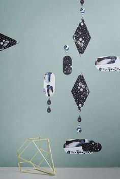 Varia — Design & photography related inspiration #geometry #print #color #art #drops #green