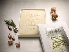 Das Kochbuch 01 #edible #lasagna #typography