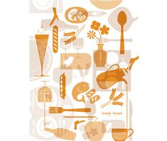 Break Bread Hospitality Identity | Cue | A Brand Design Company #identity