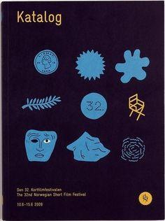 Fonts In Use – Norwegian Short Film Festival #print #identity