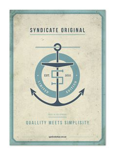 syndicate original #sndct #anchor #poster #orka