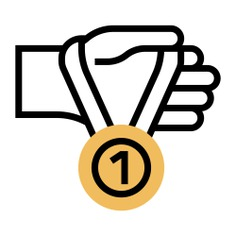 See more icon inspiration related to medal, prize, sports and competition, hands and gestures, medallion, champion, winner, award and hand on Flaticon.