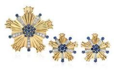 Tiffany Sapphire Crystal-Gloss-Demi-Parure