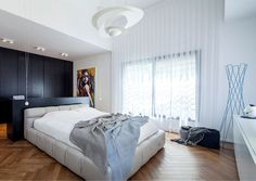B House – Modern Dwelling with Dark Accents - #bedroom, #interior, #decor, home, bedroom
