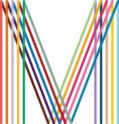 Manchester original modern #saville #logo #rainbow #peter