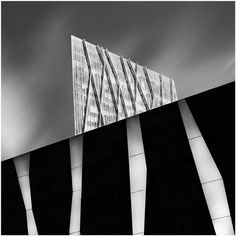 Black and White Long Exposure Architecture Photographs by Andrea Panta