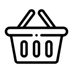 See more icon inspiration related to basket, shop, commerce and shopping, shopping basket, store, container, purchase and shopping on Flaticon.