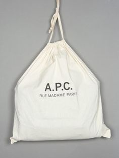 A.P.C. - #packaging #grand #week #sac #end