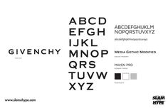 Givenchy #font #givenchy