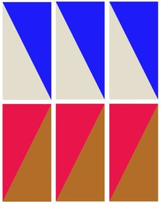 SUZANNE CLEO ANTONELLI #color #slanted #combinations