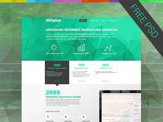 Seoplus – Free SEO Company PSD Template