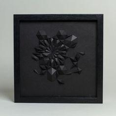 Matt Shlian | PICDIT #sculpture #design #black #art #paper