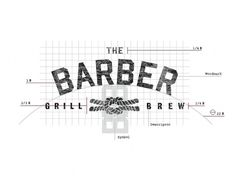 THE BARBER #logo #identity #barber #the