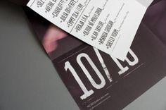 Come Play & Dress Up #branding #catalogue #tickets #fashion #type