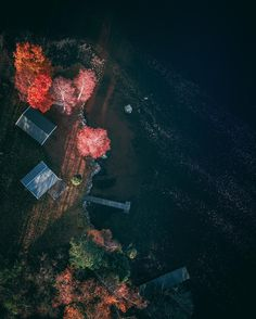 Moody and Subtle Drone Photography by Lewis Slade