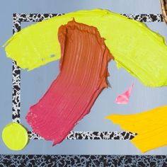 """bensandersstudio:  Small part of a new painting. """"Condiments #3 (Party Tray)"""" #gravesofcraving"""