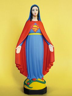 Designersgotoheaven.com  Super Mary by Soasig Chamaillard. #mary #super