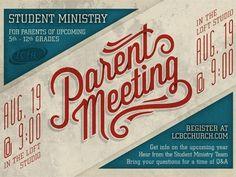 Dribbble - Parent Meeting by Adam Schweitzer