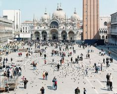 "27 Venezia San Marco from ""A Portfolio of Landscapes With Figures #massimo #vitali"