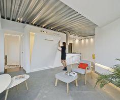 Minimalist Light-Flooded Attic Apartment in Alicante, Spain 7