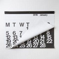 Massimo Vignelli - Stendig Calendar 2