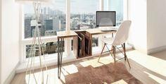 Desk by Endri Hoxha | LLGD.NET #function #desk #minimalism #workspace