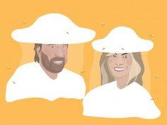Chuck Norris & Gena O'Kelley Beekeeping