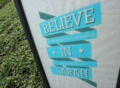 #BelieveInSarah