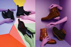 Details Magazine Boots Story on Behance #set