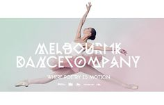 Melbourne Dance Company on the Behance Network #design