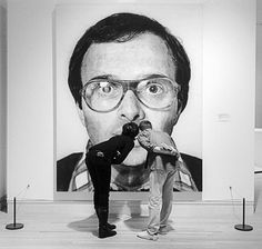http://pinterest.com/pin/163466661444306473/ #chuck #close #photography