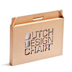 Dutch Design Chair - Sustainable Packaging Design #packaging #design #graphic #3d